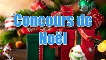 Concours de Noël !