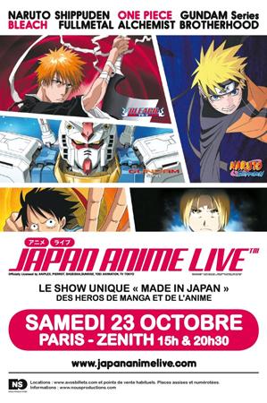 [News] [Anime] Japan Anime Live Show !